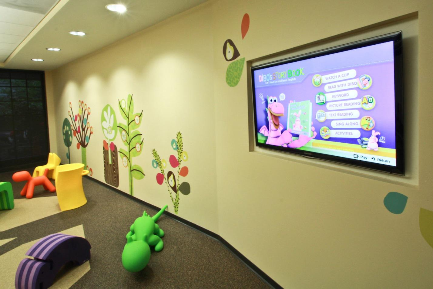 Commercial Audio Visual Systems - HD Smart TV with Interactive Apps installed by Gridworks