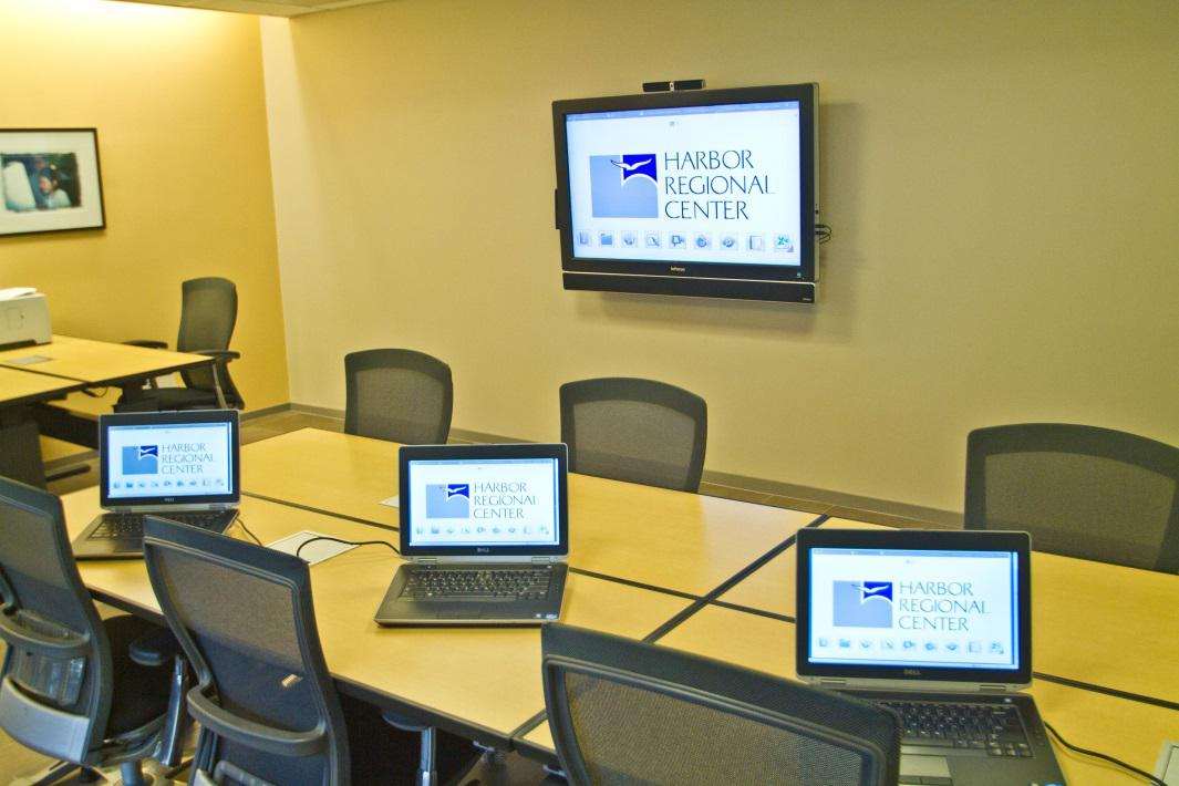 Commercial Audio Visual System - Infocus Mondopad in Conference Room installed by Gridworks