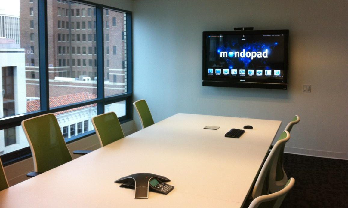 Commercial Audio Visual Systems - Mondopad Touchscreen installed by Gridworks