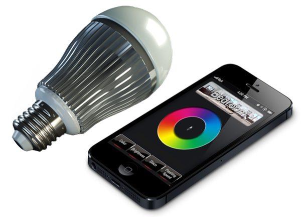 app enabled smart bulbs. Black Bedroom Furniture Sets. Home Design Ideas