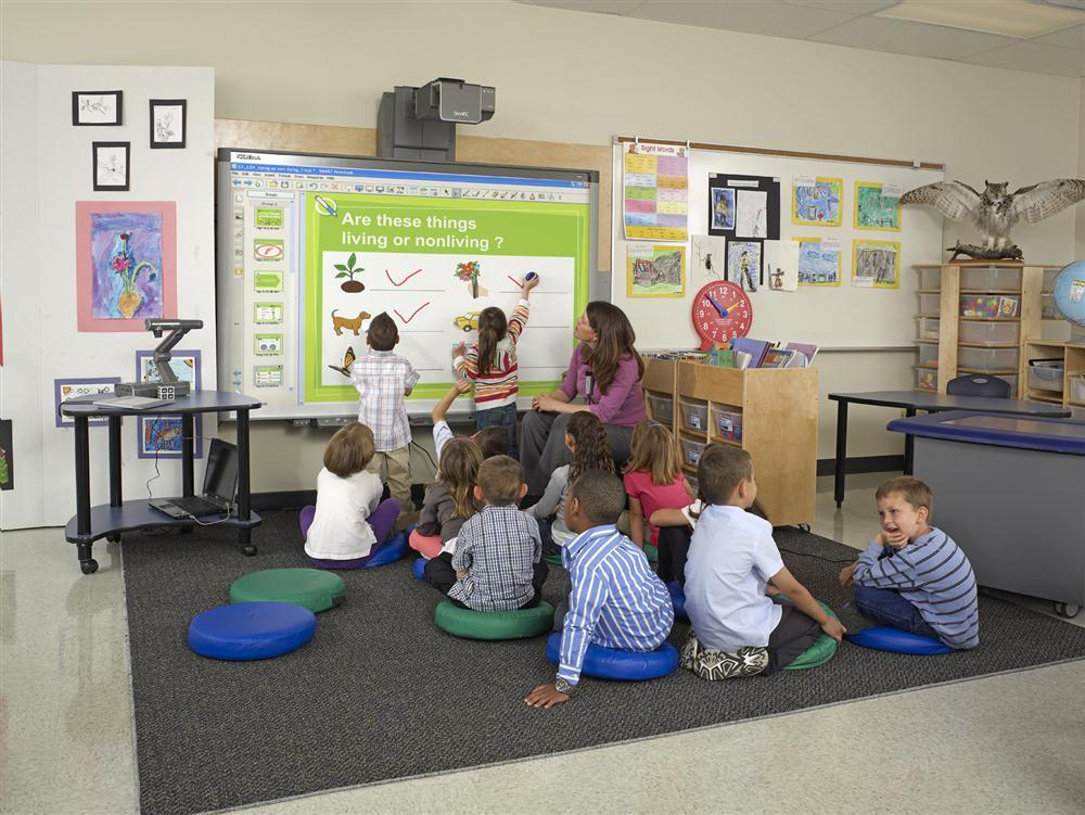Interactive Classrooms With Audio Visual Systems