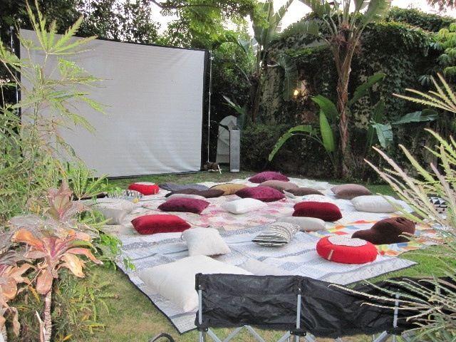 Backyard Movie Ideas backyard movie hosting