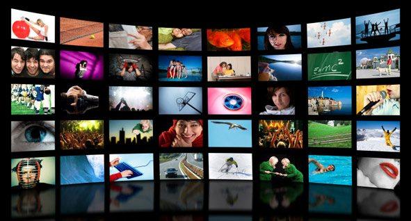 digital signage: video wall