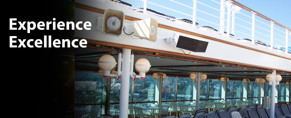 Cruise Ship entertainment, educational and public address systems